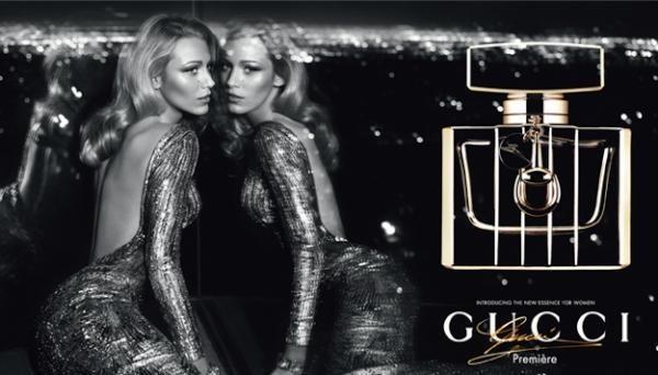Blake Lively égérie du parfum Gucci Première...