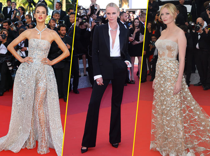 Alessandra Ambrosio, Charlize Theron et Kirsten Dunst