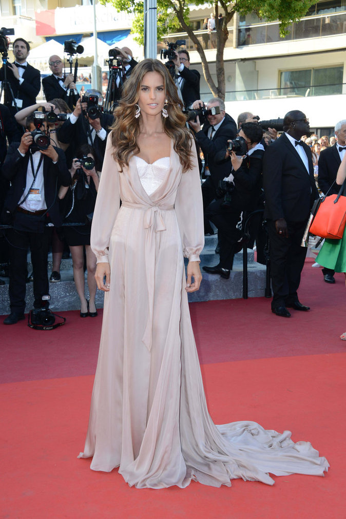 Izabel Goulart en Ralph and Drusso