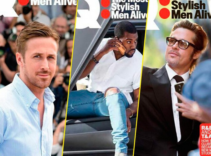 Photos : Ryan, Kanye, Brad... 6 couvertures pour 6 bombes, merci GQ Magazine !