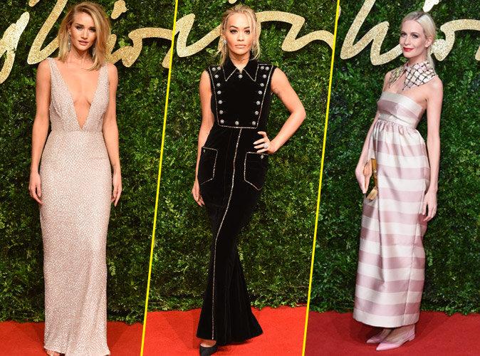 Photos : British Fashion Awards : Rosie Huntington-Whiteley, Rita Ora, Poppy Delevingne : les plus beaux looks !