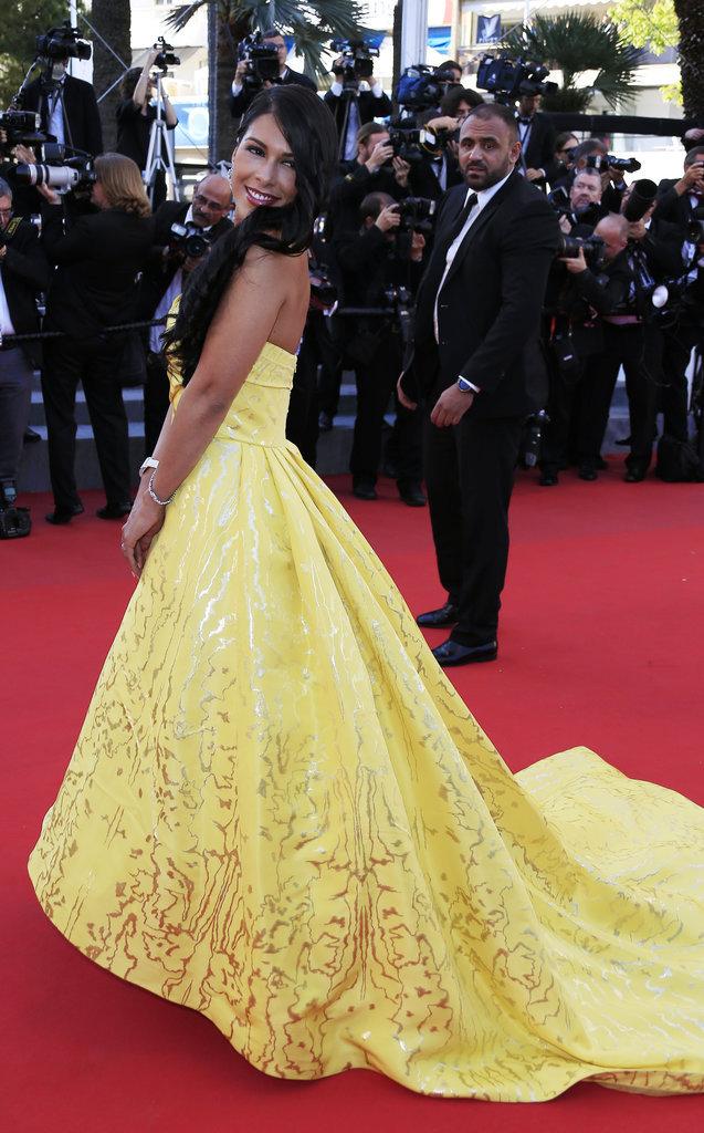 Ayem Nour au Festival de Cannes 2015