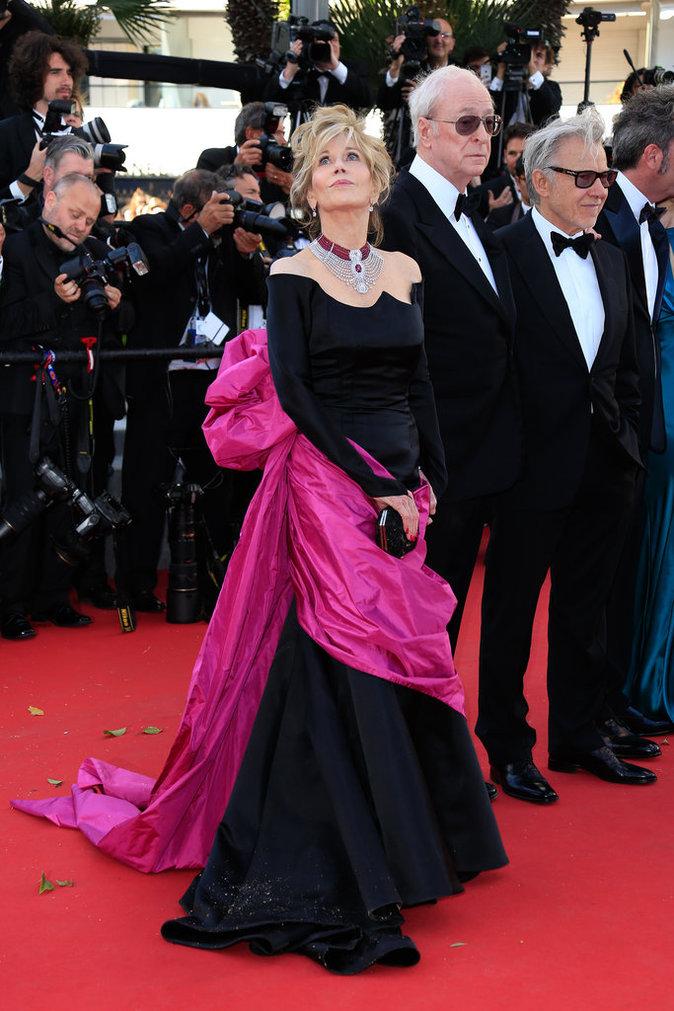 Jane Fonda au Festival de Cannes 2015