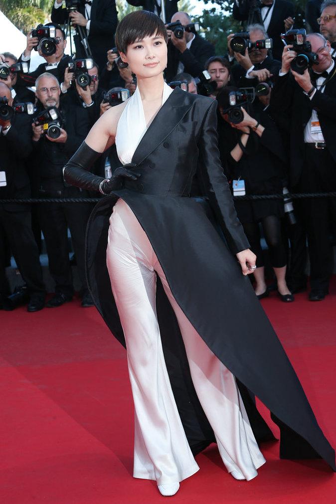 Li Yuchun au Festival de Cannes 2015
