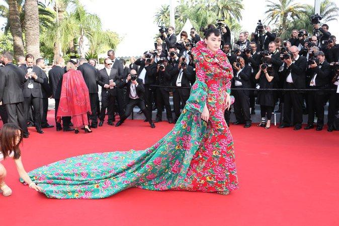 Viann Zhang au Festival de Cannes 2015