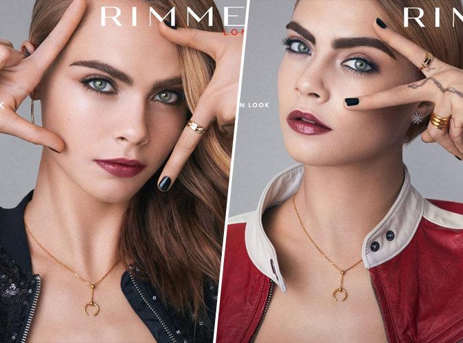 Cara Delevingne : patriote et glamour pour Rimmel London