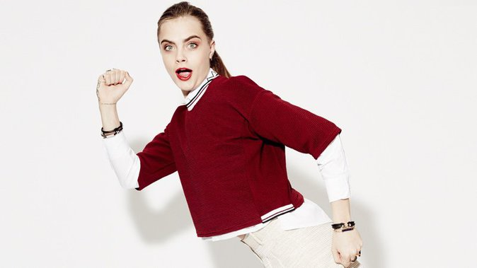 Cara Delevingne : toujours aussi délurée pour la nouvelle campagne Penshoppe !