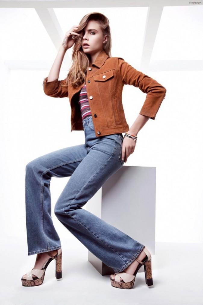 Cara Delevingne, un nouveau shooting au look casual chic