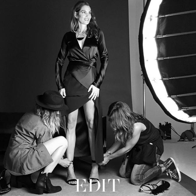 Cindy Crawford : 49 ans et toujours aussi fabuleuse pour The Edit Magazine !