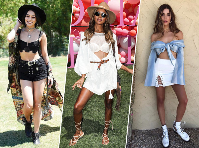 Coachella 2017 : Vanessa Hudgens, Jasmine Tookes, Negin Mirsalehi... Tous les plus beaux look du festival !