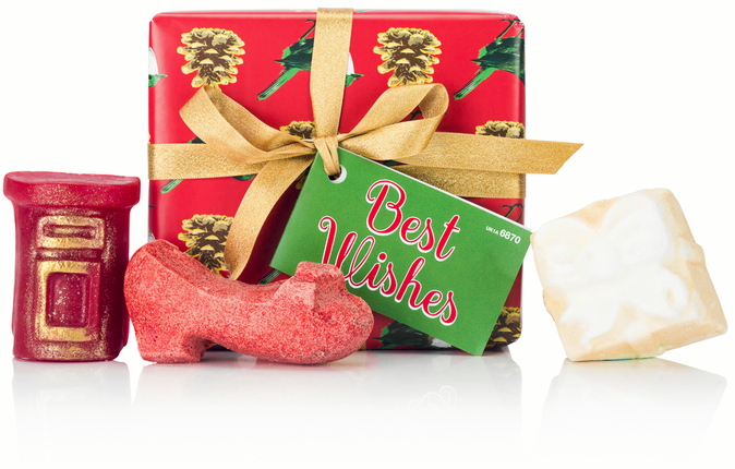 Coffret Best Wishes, Lush. 19,95 €