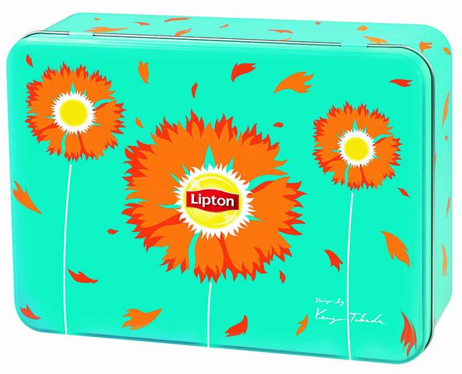 Coffret de thés, Lipton x Kenzo. 19,99 €.