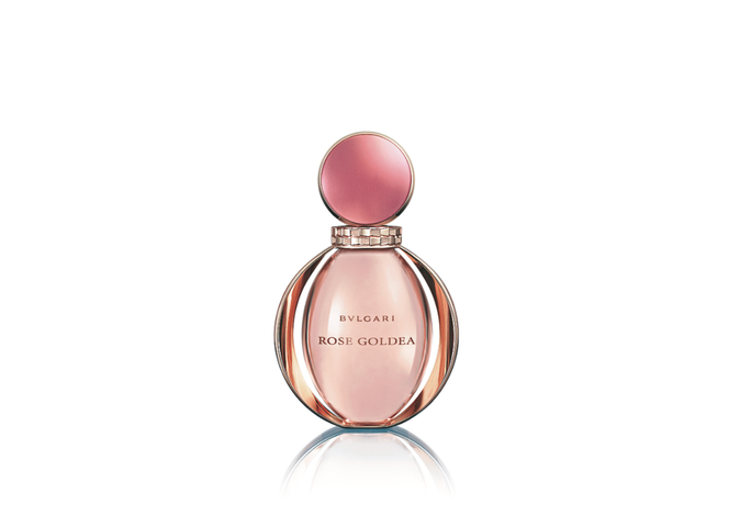 Eau de Parfum Rose Goldea 50ml, Bulgari. 95 €.