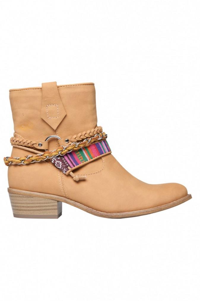 Boots brides multicolores – Tissaia Leclerc - 26,90€