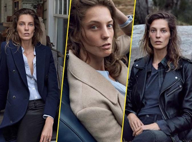 Photos : Daria Werbowy : roadtrip en pleine nature, elle pose pour AG Jeans !