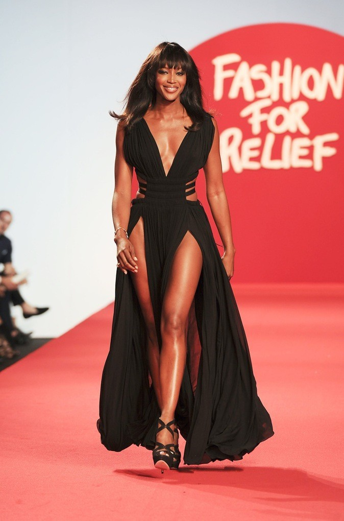 Naomi Campbell, la panthère !