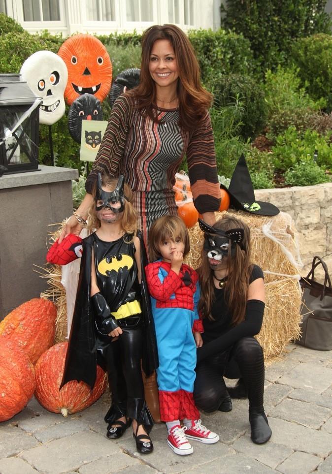 Brooke Burke et sa ribambelle d'enfants !