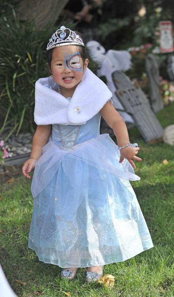 Décidément, toutes les filles sont des princesses ! Ici Naleih, la fille de Katherine Heigl