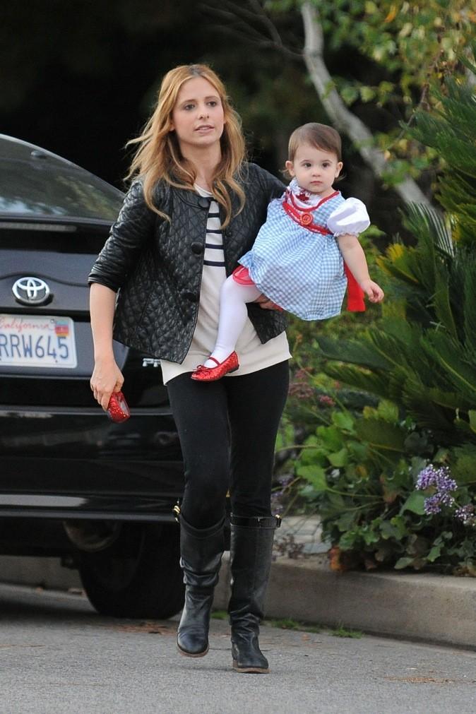Sarah Michelle Gellar et sa fille Charlotte