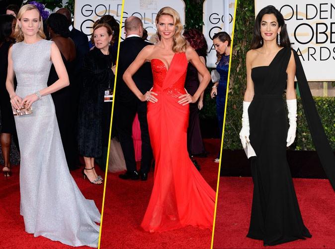Photos : Diane Kruger, Heidi Klum, Amal Clooney... Découvrez les plus beaux looks des Golden Globes !