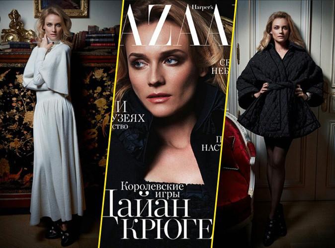 Diane Kruger : élégante en Chanel pour le Harper's Bazaar !