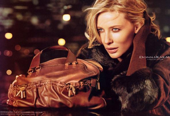 Cate Blanchett pour Donna Karan