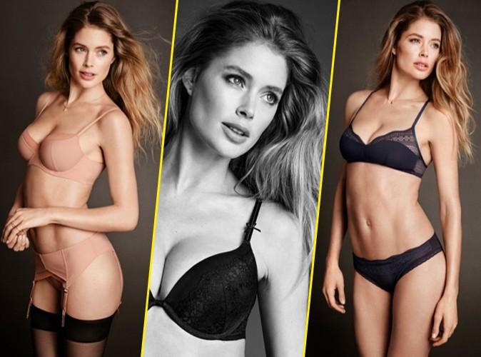 Photos : Doutzen Kroes, une jeune maman plus sexy que jamais pour H&M !