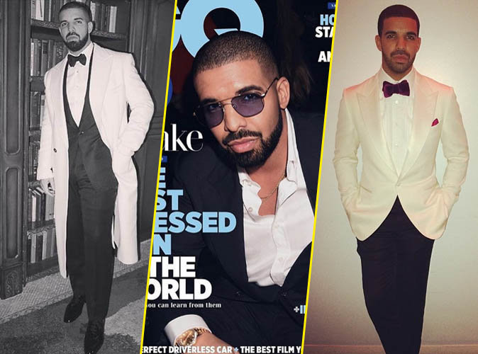 Drake : star la mieux habillée ? C'est GQ qui le dit !