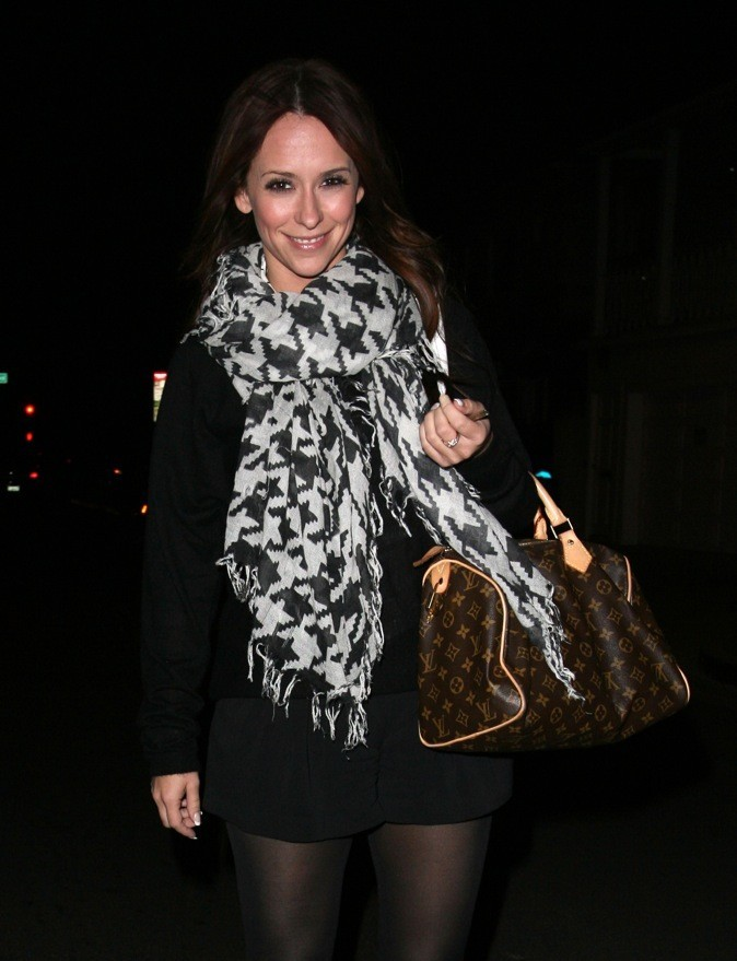 Jennifer Love Hewitt et le Speedy de Vuitton