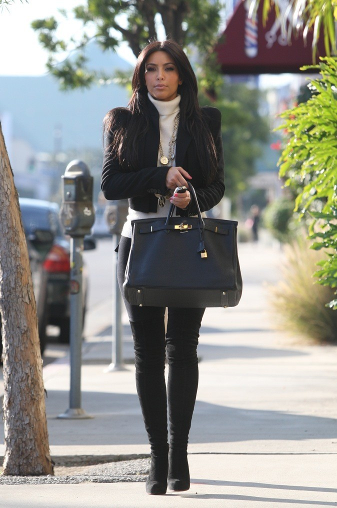 Kim Kardashian et le Kelly de Hermes