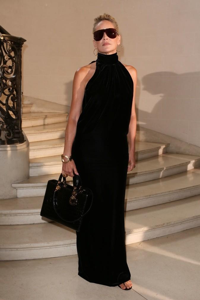 Sharon Stone a craqué pour le Lady Dior !