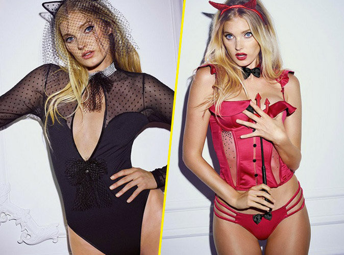 Photos : Elsa Hosk : un Ange Victoria's Secret dangereusement hot pour Halloween !