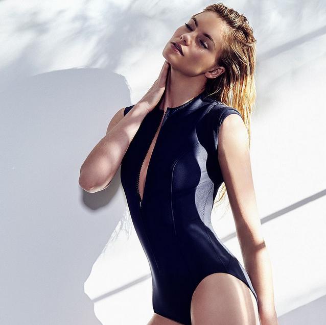 Photos : Elyse Taylor : le mannequin Victoria's Secret plus sexy que jamais pour Sporteluxe Magazine !
