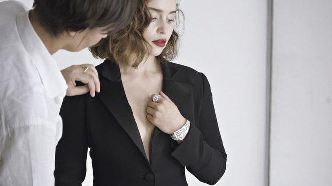 Emilia Clarke devient la nouvelle égérie Dior Joaillerie !