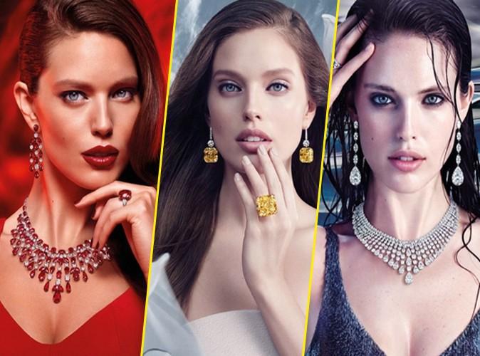 Photos : Emily DiDonato : sa campagne pour les bijoux Graff époustouflante !