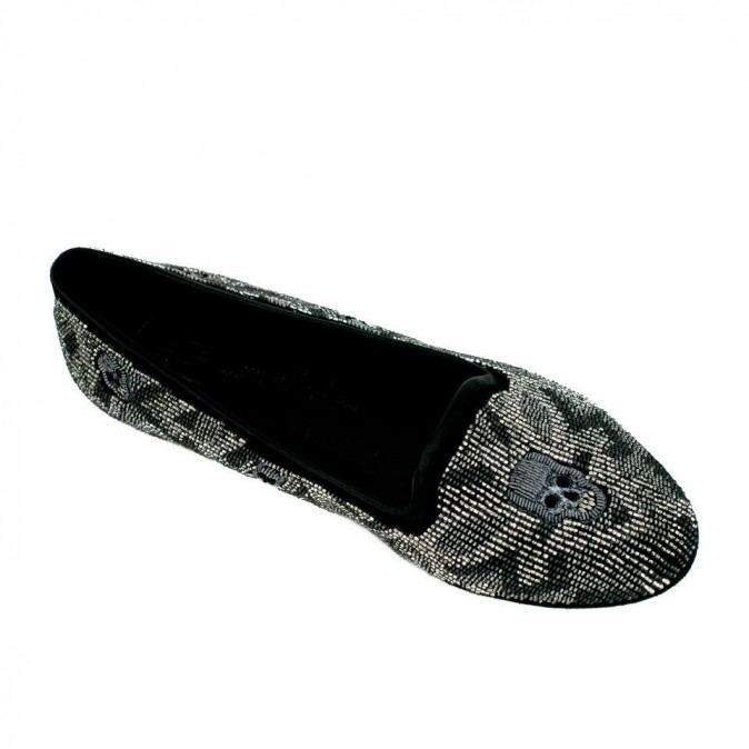 Mocassins tête de mort House of Harlow