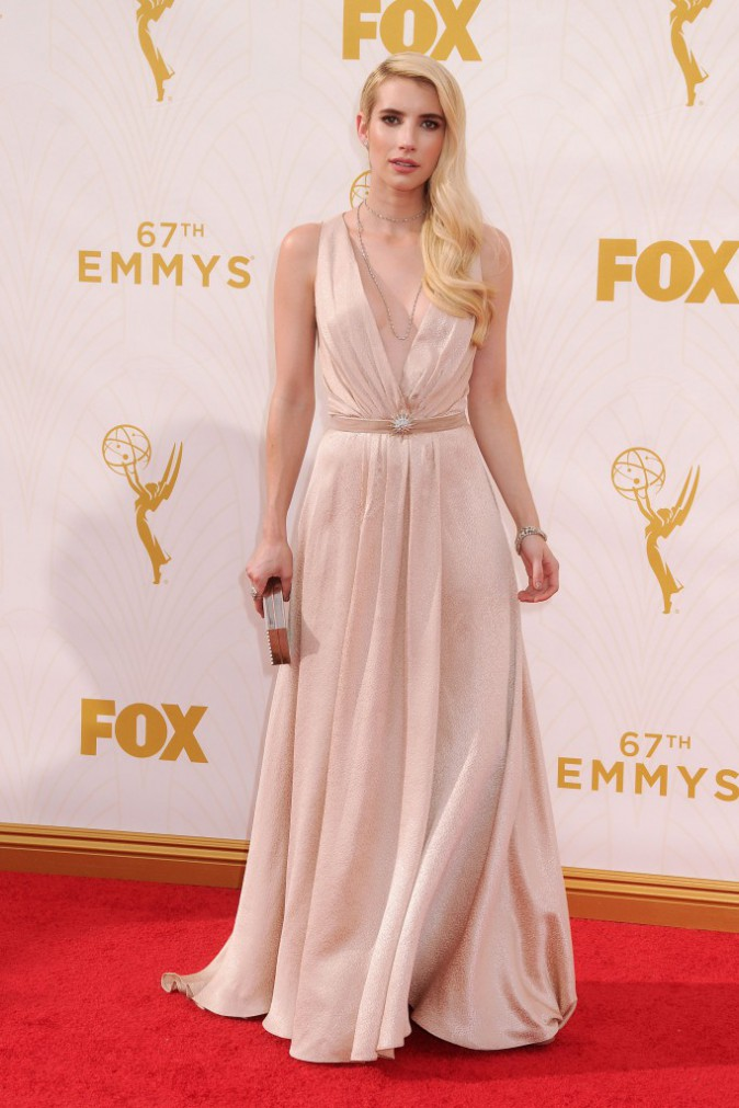 Emma Roberts aux Emmy Awards 2015