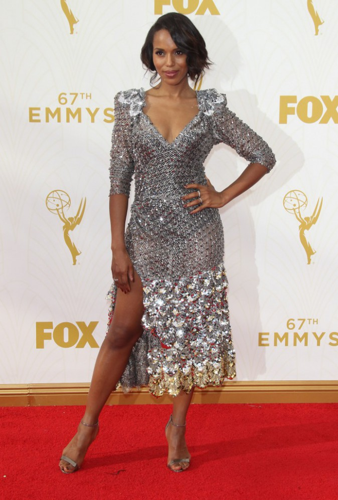 Kerry Washington aux Emmy Awards 2015