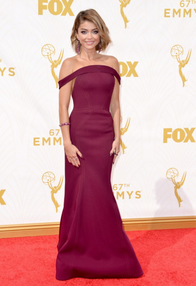 Sarah Hyland aux Emmy Awards 2015