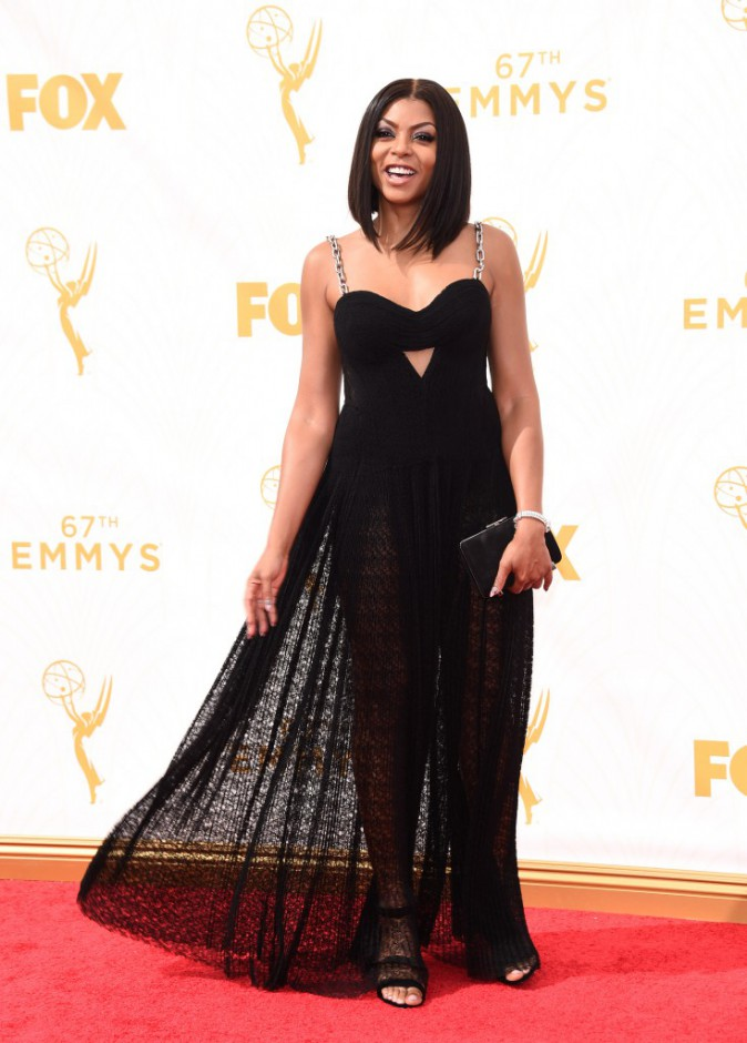Taraji P. Henson aux Emmy Awards 2015