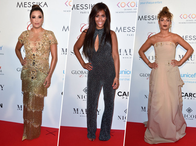 Eva Longoria, Amel Bent, Tal... Tous les looks du Global Gift Gala !