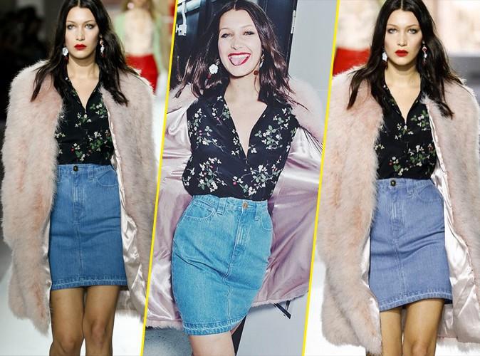 Photos : Fashion Week de Londres : Bella Hadid : star du défilé Topshop !