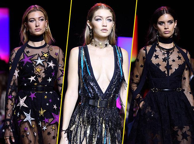 Photos : Fashion Week : Hailey Baldwin, Gigi Hadid, Sara Sampaio... hypnotisantes pour le défile Elie Saab