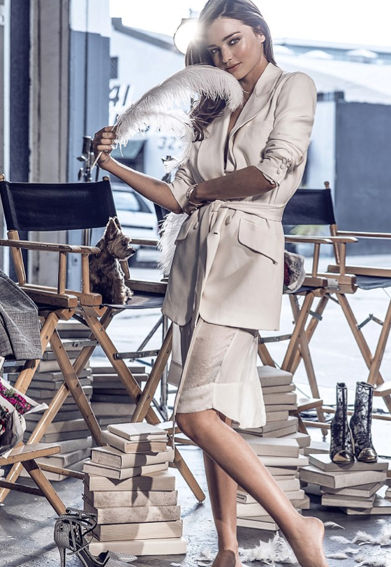 Miranda Kerr pour Swarovski