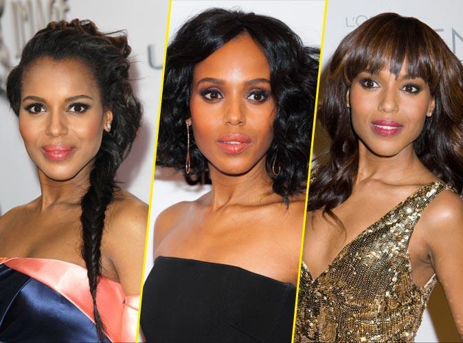 Photos : sujet ethnique : focus sur le hairstyle de la star de Scandal, Kerry Washington !