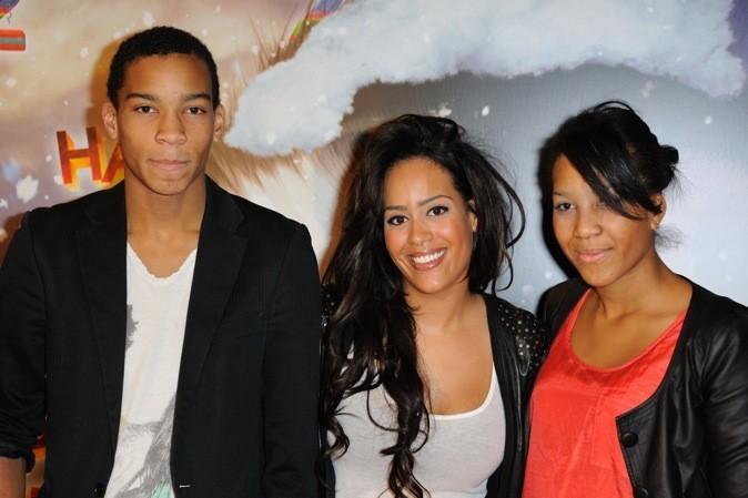 Amel Bent, son frère Ilyes et sa soeur Mélissa : complètement fans !