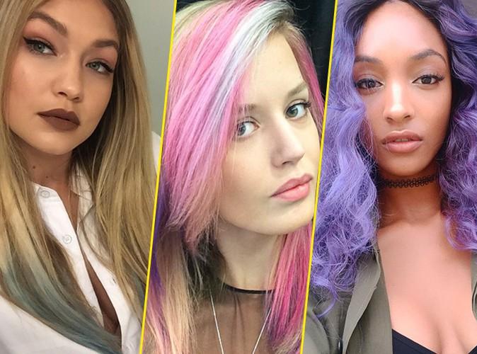 Photos : Gigi Hadid, Jourdan Dunn, Georgia May Jagger... : les tops passent TOUTES à la couleur !