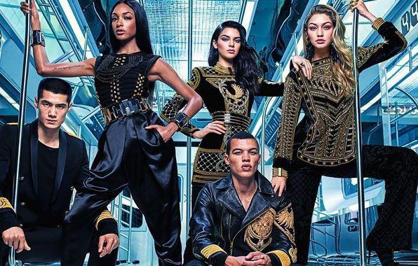 Photos : Gigi Hadid, Kendall Jenner et Jourdan Dunn : les trois bombes réunies sur la campagne Balmain x H&M !