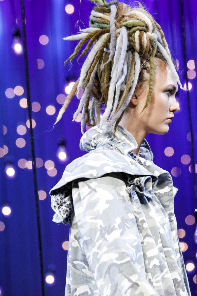 Karlie Kloss au défilé Marc Jacobs, le 15 septembre