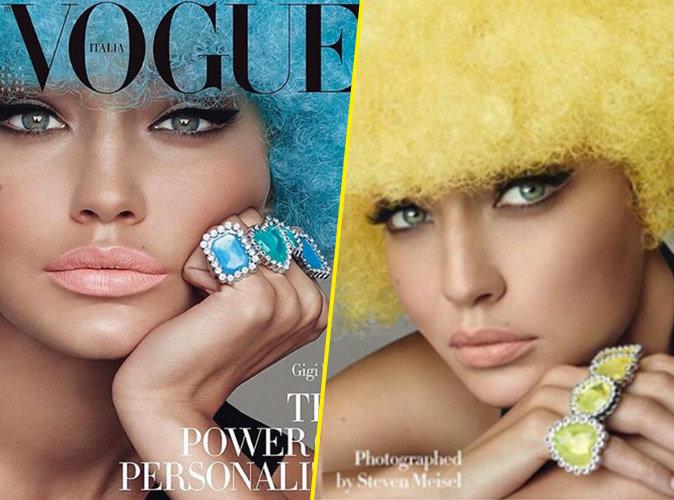 Gigi Hadid pour Vogue Italia numéro de novembre
